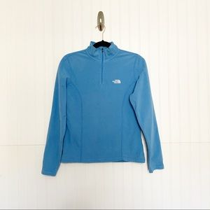 The North Face Small Baby Blue 1/4 Zip Popover